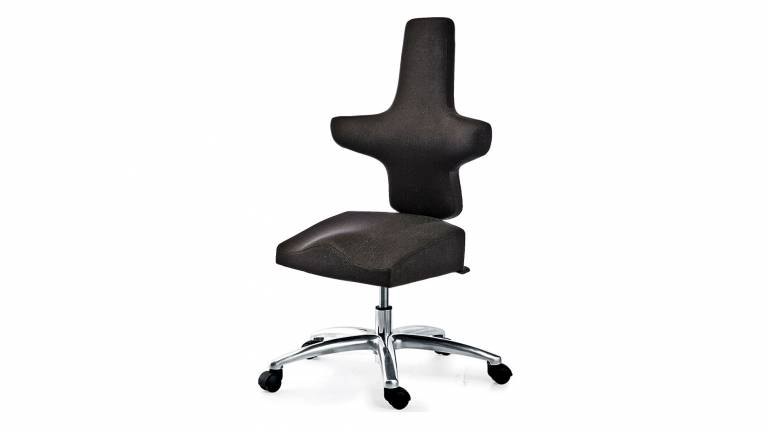 WEY-chair 106 leather saddle chair