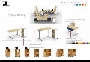 Büroplanung   Großraumprojekt für MR Reinhausen in China