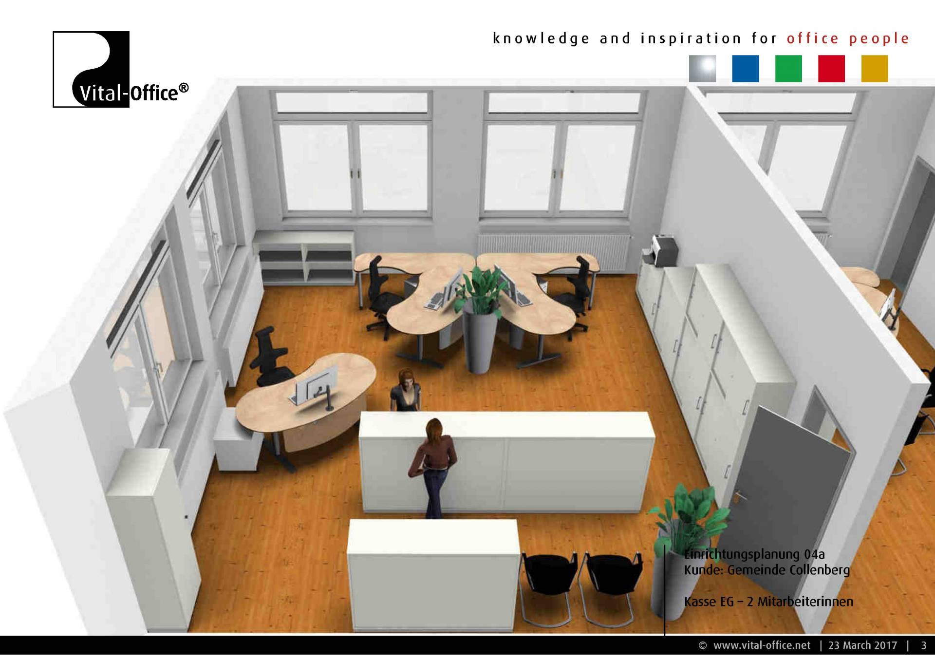 b roplanung f r die gemeinde collenberg vital office. Black Bedroom Furniture Sets. Home Design Ideas