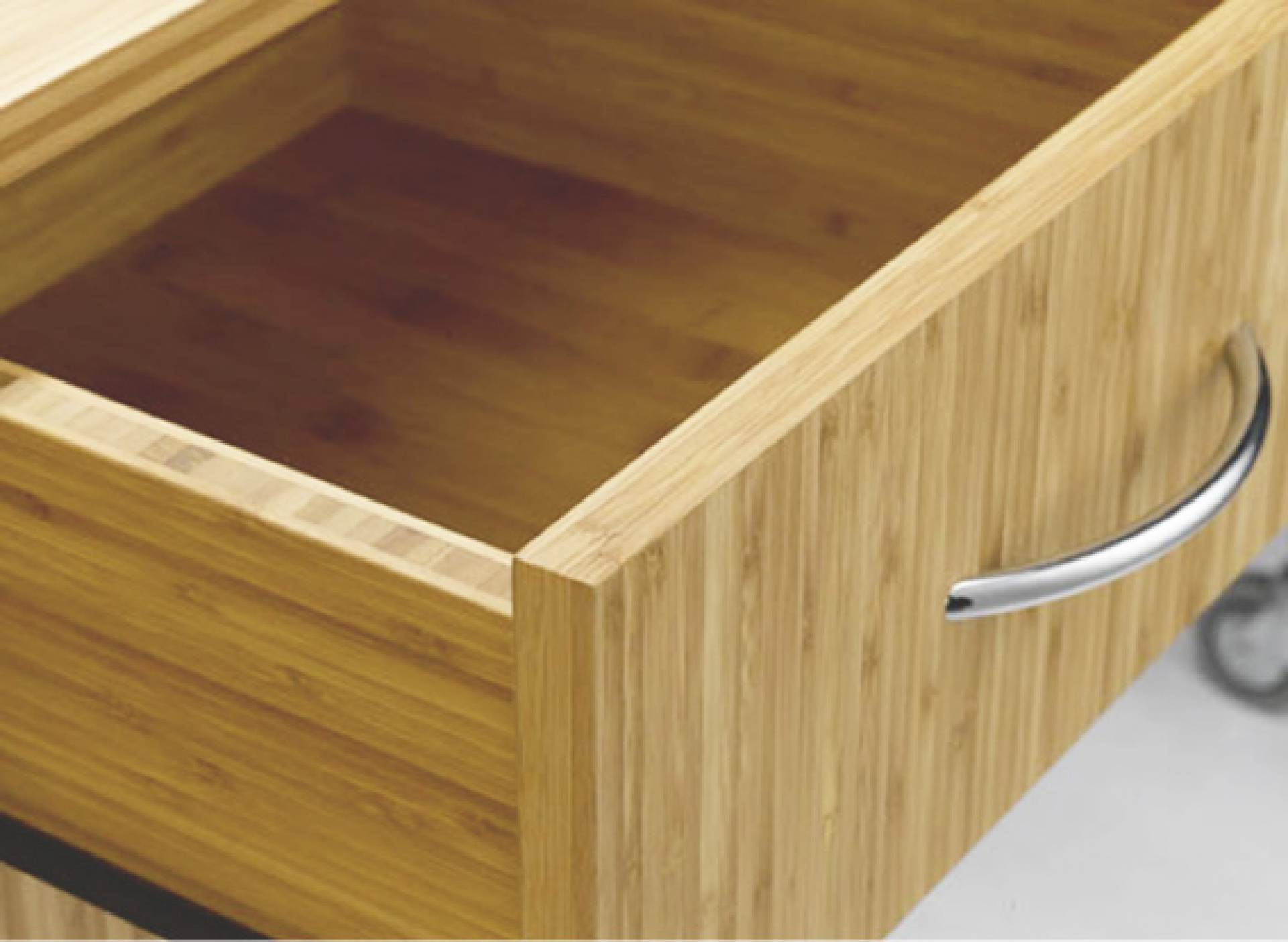 Bamboo Design Sideboard With Doors, 2 Drawers And Add On Top. (Sitwell  Collection)