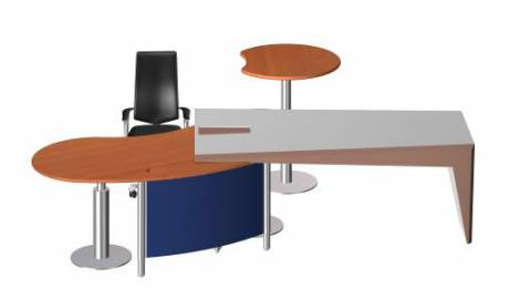 Face - circon face desk base unit with adaptation for cabinet